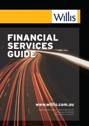 FINANCIAL SERVICES GUIDE - Willis