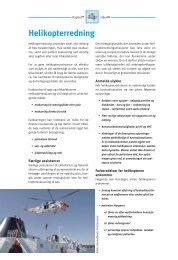 Kapitel 7 - Helikopterredning (pdf - 324Kb) - Fiskericirklen