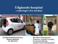 Udgående hospital - Region Sjælland