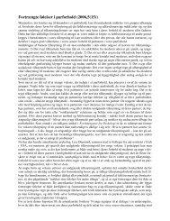 Fortrængte følelser i parforhold (2006,5(15))