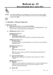 Referat bestyrelsesmøde 15