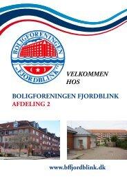BOLIGFORENINGEN FJORDBLINK AFDELING 2 ... - Alabu Bolig