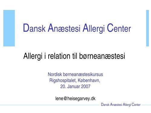 histamin allergi