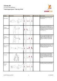 Download træningsprogrammet som PDF her - Viivaa