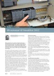 Øl-automat til Smukfest 2012 - Siemens