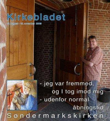 August 2009 - Søndermark Sogn