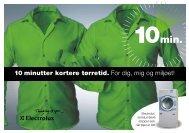 10 minutter kortere tørretid - Electrolux Laundry Systems
