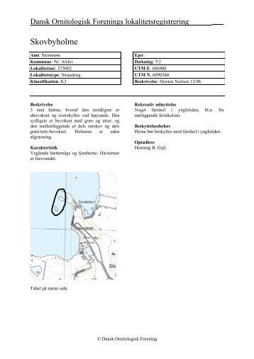 Storstrøms amt - bind 2 - Dansk Ornitologisk Forening