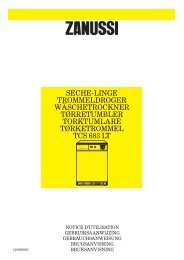 seche-linge trommeldroger wäschetrockner ... - Electrolux-ui.com