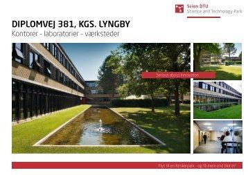 DIPLOMVEJ 381, KGS. LYNGBY - Scion DTU