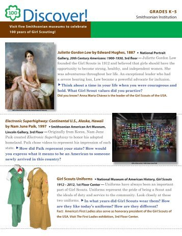 Discover! K-5 English - Smithsonian Institution