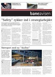 """Safety"""" rykker ind i strategiarbejdet - Banedanmark"""