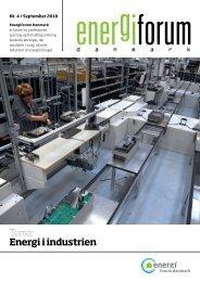 Tema: Energi i industrien - Energiforum Danmark