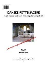 2005 - Medlemsblad nr. 09 - Pottemagere   Keramiker