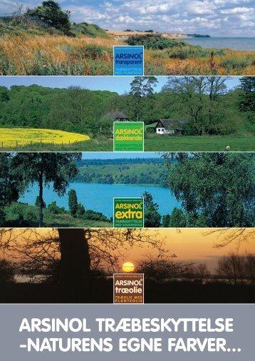 arsinol træbeskyttelse -naturens egne farver... - Grene