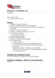 Årsmøtepapirer 2013 Stridsklev Idrettslag - Stridsklev IL