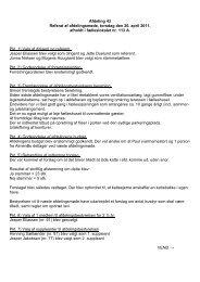 Afdeling 43 Referat af afdelingsmøde, torsdag ... - Almenbo Aarhus