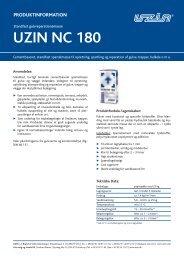 UZIN NC 180 - Uzin Utz AG