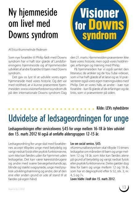 DOWN&UP - Landsforeningen Downs Syndrom