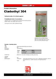 Clæbothyl 304 - Dana Lim A/S