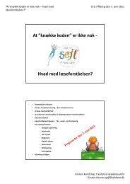 Microsoft PowerPoint - \305lborg den 7. juni - l\346seforst\345else.pptx