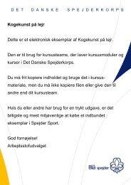 Kogekunst på lejr - DDS.dk - Det Danske Spejderkorps