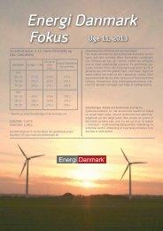 Energi Danmark Fokus uge 11 - 2013