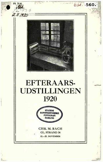 EFTERAARS- UDSTILLINGEN