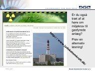 Miljøregler - Dansk Gas Forening