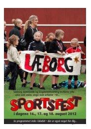 Sportsfestprogram 2012 - Læborg Gymnastik