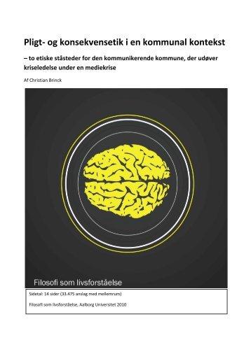 Af Christian Brinck - Kommunikationsforum