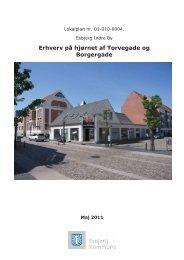 01-010-0004 Esbjerg indre by, Erhverv på hjørnet af Torvegade og ...