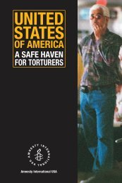 USA - A Safe Haven for Torturers - California Western School of Law