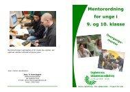 Mentorordning, pjece3 - UU Sjælland Syd