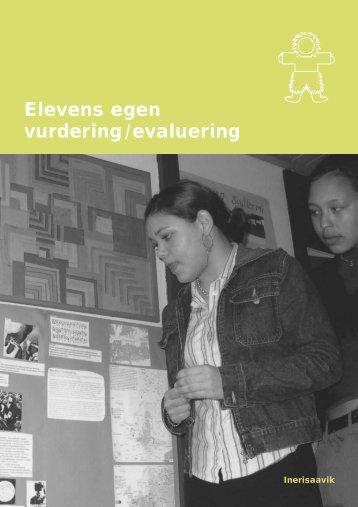 Elevens egen vurdering/evaluering - Inerisaavik