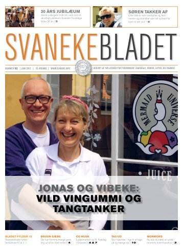 JONAS OG VIBEKE: VILD VINGUMMI OG TANGTANKER