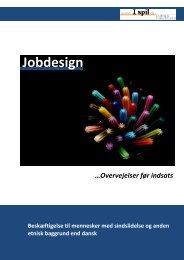 Jobdesign Jobdesign