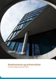 Teknisk baggrundsnotat - Dansk Byggeri