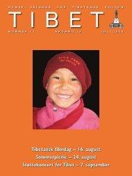 Tibet 72 2008 - Dansk Selskab for Tibetansk Kultur