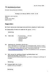 2009 0225 - Rantzausminde Skole