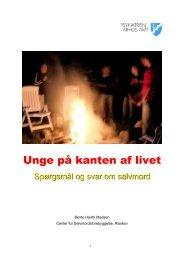 Unge på kanten af livet - Auhrisskov.dk