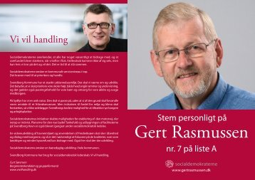 Gert Rasmussens personlige hjemmeside