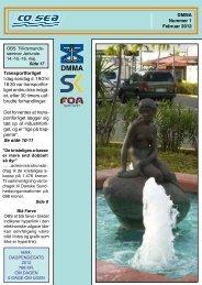 DMMA Nummer 1 Februar 2012 Transportforliget I dag ... - CO-SEA
