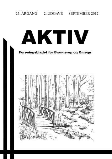 Aktiv Bladet september 2012 - Branderup