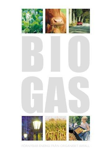 Biogas - Förnybar energi från organiskt avfall - Bioenergiportalen