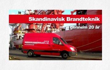 Se vores jubilæumsbrochure her - Skandinavisk Brandteknik A/S