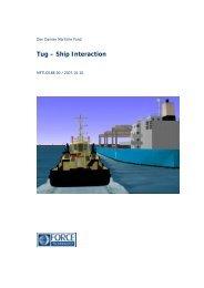 DANISH MARITIME INSTITUTE - Den Danske Maritime Fond