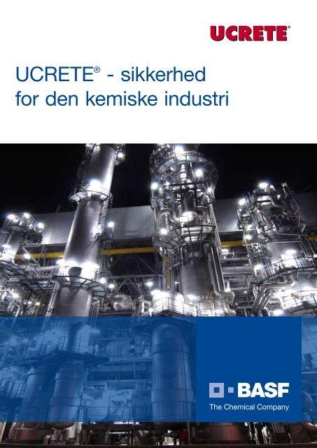 UCRETE® - sikkerhed for den kemiske industri - Basf