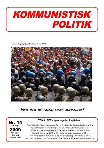 Kommunistisk Politik 14, 2009