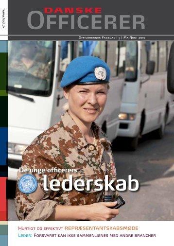 De unge officerers - Hovedorganisationen af Officerer i Danmark